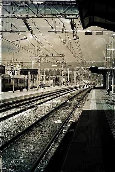 Waiting at the Station by ArchetypePhoto