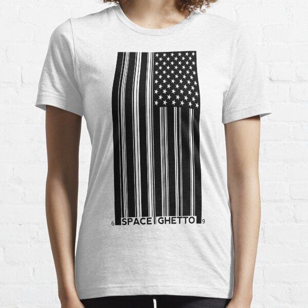 Barcode Flag Essential T-Shirt