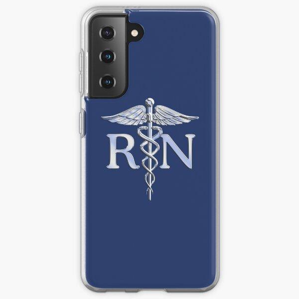 Registered Nurse Medical Caduceus Samsung Galaxy Soft Case