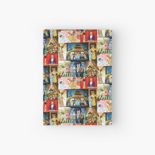 Wes Anderson  Hardcover Journal
