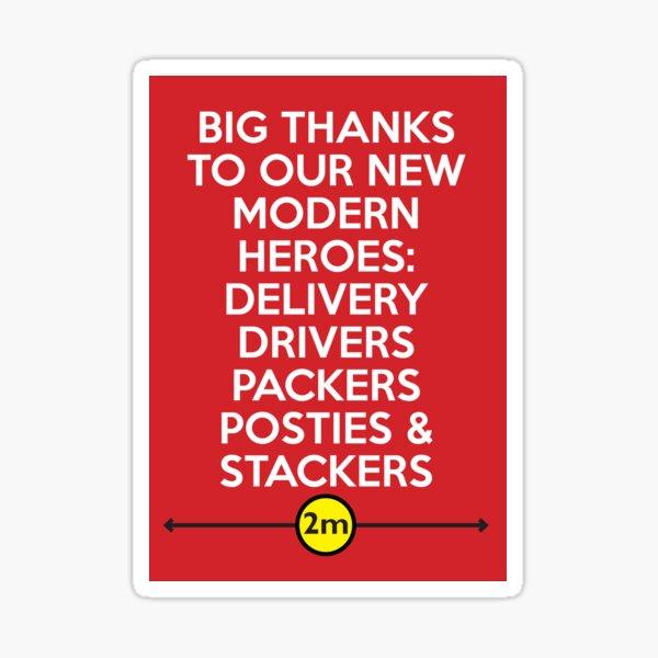 Big Thanks Sticker