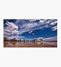 Outback Suprise - Wilcannia, NSW Photographic Print