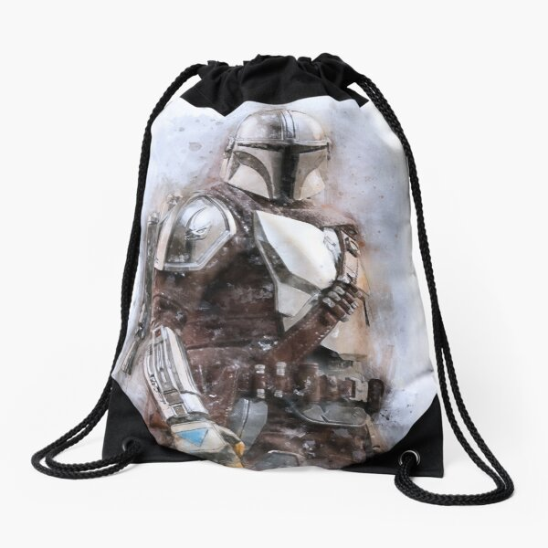 New Mando Drawstring Bag