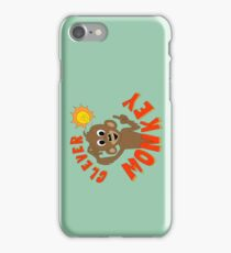 Clever Monkey iPhone Case/Skin