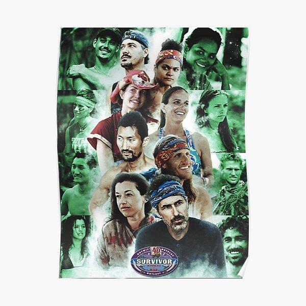 Survivor 40 Poster