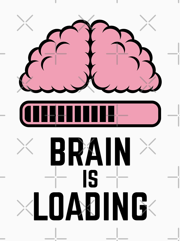 Brain Is Loading (Pink) by MrFaulbaum