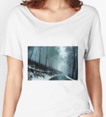 0233  Into a cold dark place   [e] Women's Relaxed Fit T-Shirt