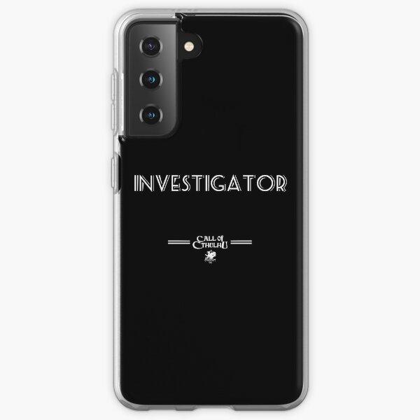Investigator Samsung Galaxy Soft Case