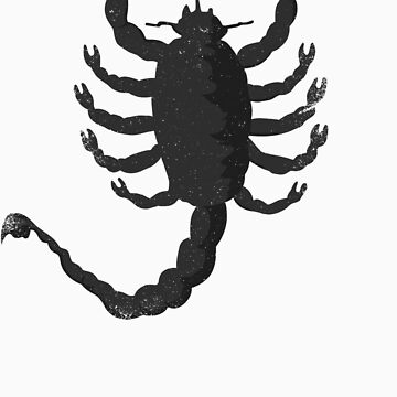 Drive - Scorpion Tee by Rusty100