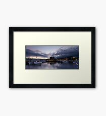 Constitution Dock - Hobart Framed Print