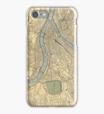 Vintage Map of Pittsburgh PA (1891) iPhone Case/Skin