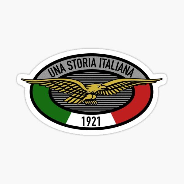 Una Storia Italiana Moto Guzzi Sticker