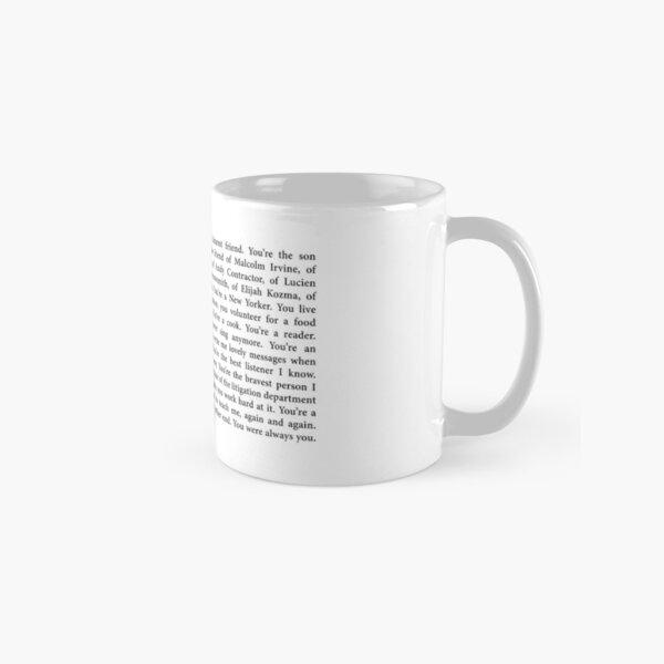 you're jude st. francis.  Classic Mug