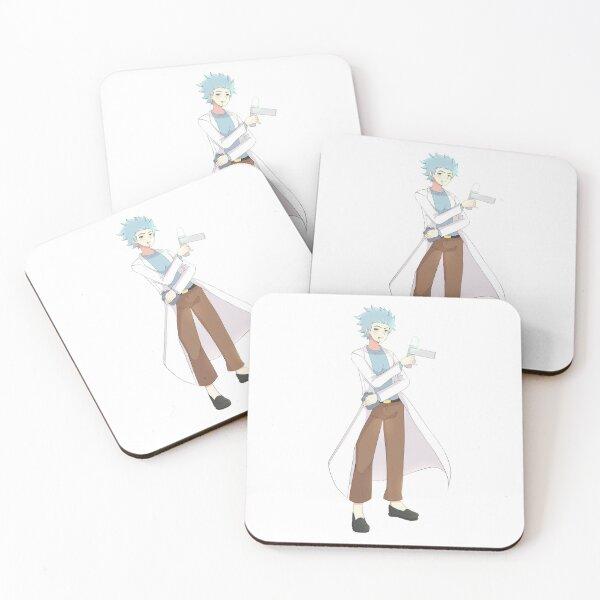 Anime Rick Coasters (Set of 4)