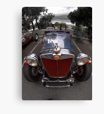 MG TC Holden Special 1947 Canvas Print