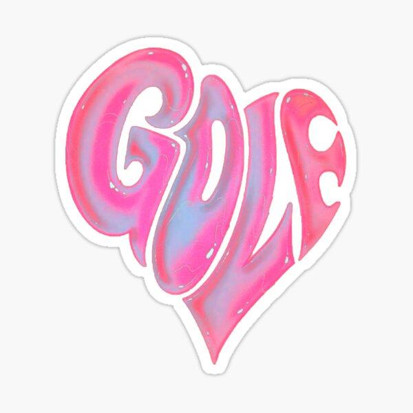 Golf Heart Sticker