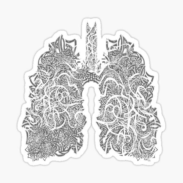 Breathe Art, Grey Sticker