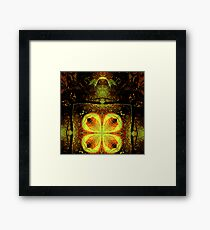 mutant king.... temperature rising Framed Print