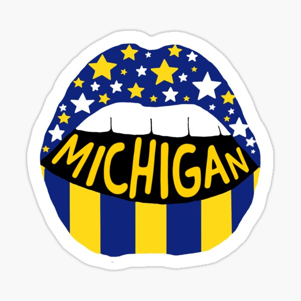 University of Michigan Sticker Sticker