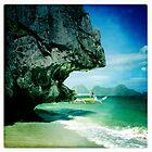 Entalula island, El Nido, Philippines by Cara Gallardo Weil