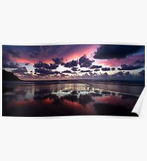 Sunrise at Double Island Point Poster