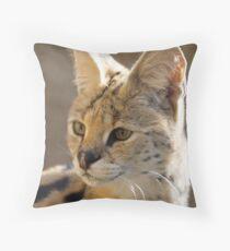 Cerval Throw Pillow
