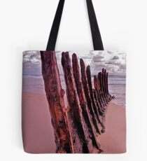 Ship Wrecked Tote Bag