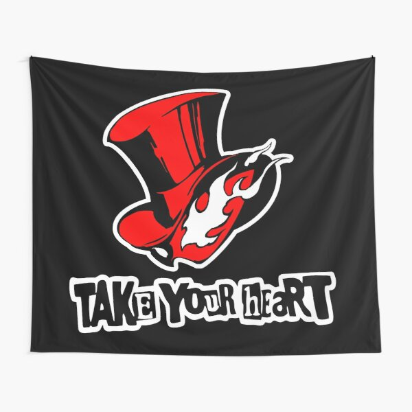 P5 Take your Heart Tapestry