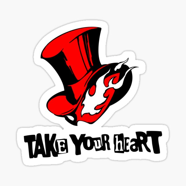 P5 Take your Heart Sticker