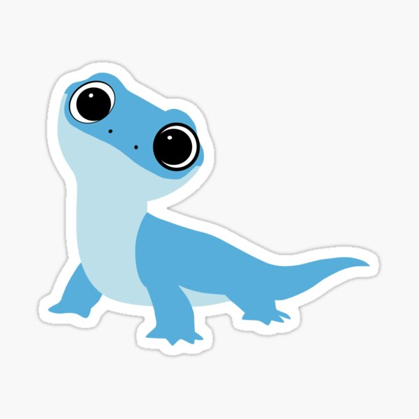 Burni, The Lizard Sticker