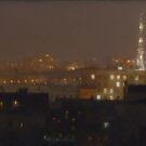 Rostov by Night by Nikolay Semyonov