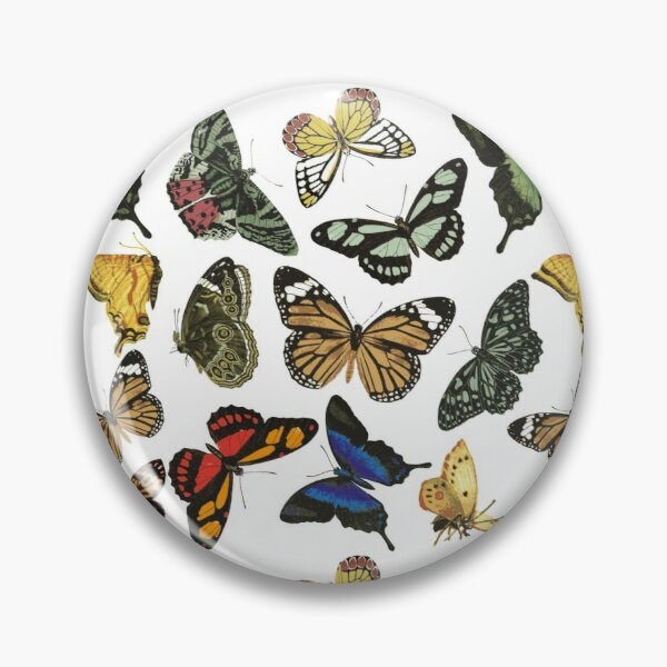 Vintage Butterflies | Butterfly Patterns | Colorful Butterfly Pattern | Pin