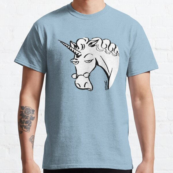 Carol the unicorn portrait Classic T-Shirt