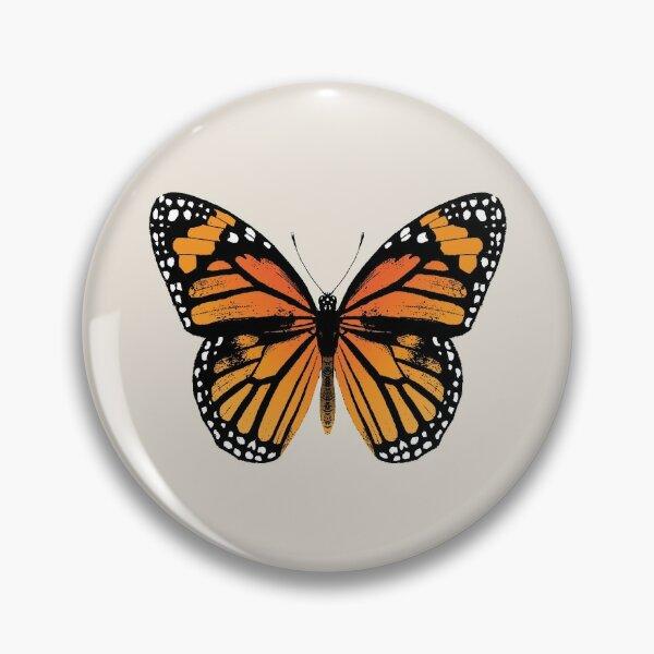 Papillon monarque | Papillons Vintage | Badge