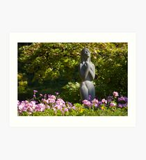 In the Garden of Dreams and Longing - Butchart Art Print