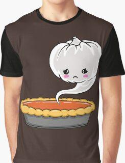 Sad Pumpkin | Cute Pumpkin Ghost  Graphic T-Shirt