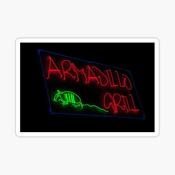 Armadillo Grill Sticker