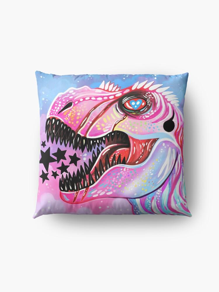 Alternate view of T-Rex Floor Pillow