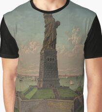 Camiseta gráfica Statue of Liberty Artwork