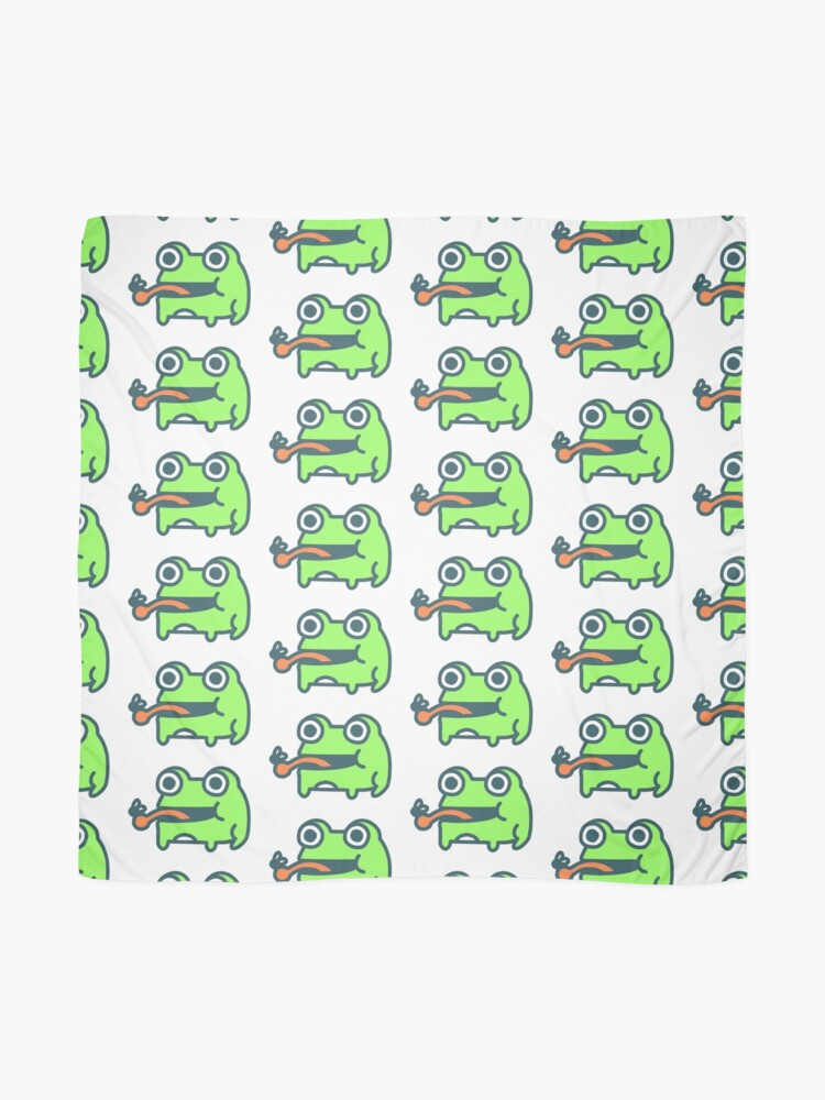 Alternate view of Frog And Fly Scarf