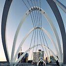 Seafarers Bridge Melbourne by oddoutlet