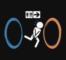 Portal toilet funny