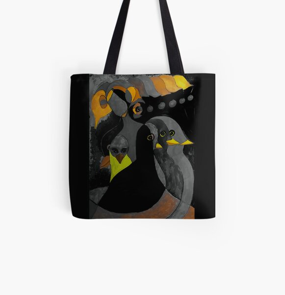 Streaming Consciousness All Over Print Tote Bag