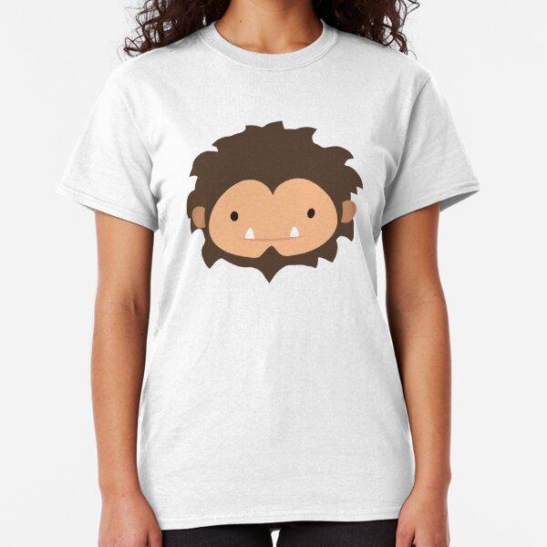 Sneaky Sasquatch Big Head Classic T-Shirt