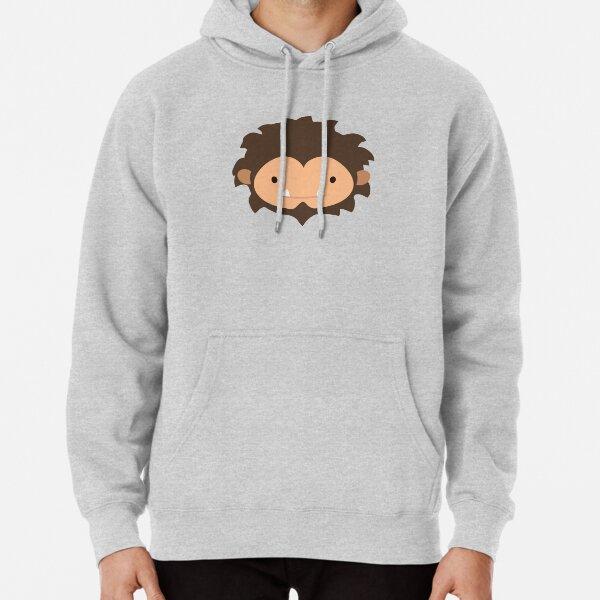 Sneaky Sasquatch Big Head Pullover Hoodie