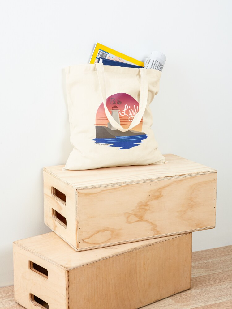 Alternate view of Be the Light Tote Bag