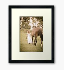 So they went... Framed Print