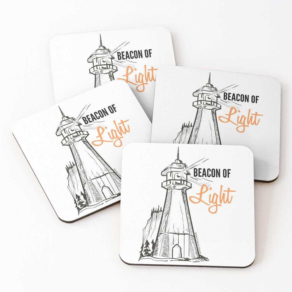 Beacon of Light Coasters (Set of 4)