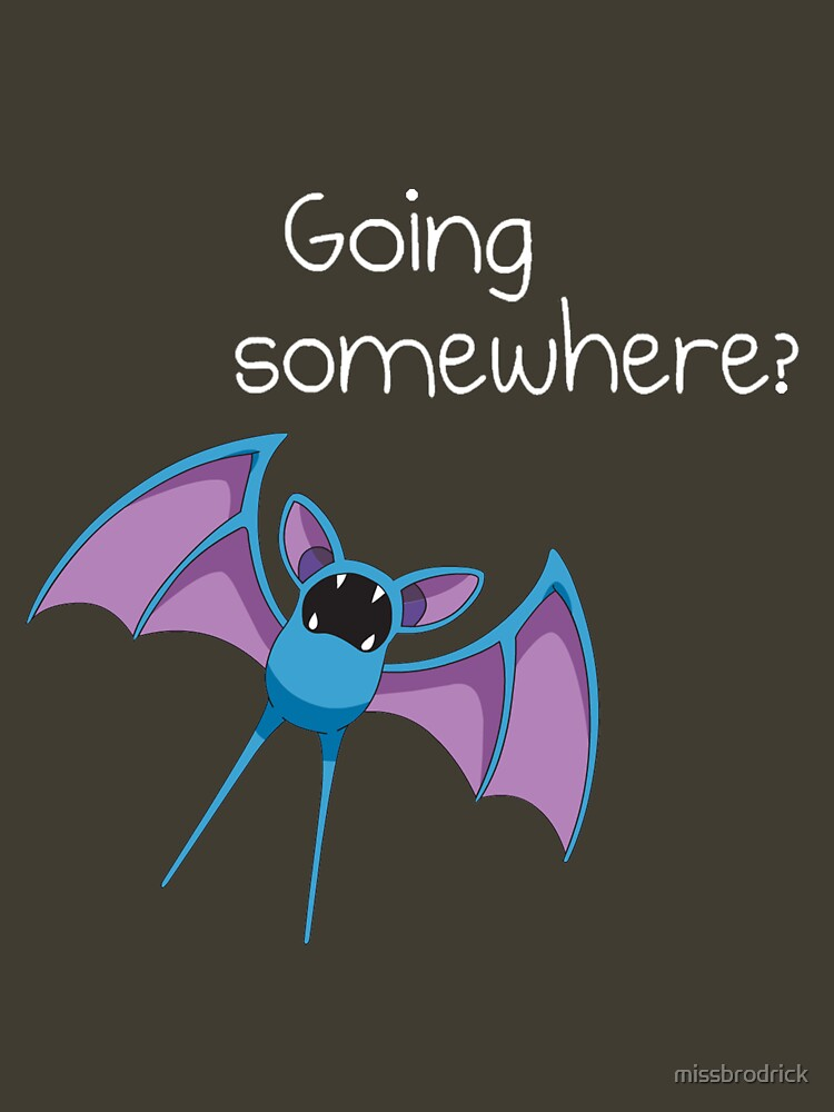 Zubat - Going Somewhere? | Unisex T-Shirt