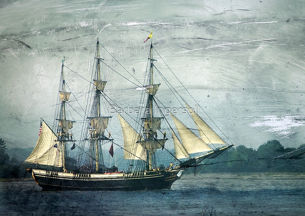 Tall Ship by Barbara Ingersoll
